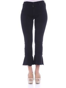 MOTHER - Black The Cha Cha Fray jeans