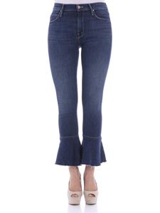 MOTHER - Blue The Cha Cha Fray jeans