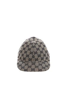 Gucci - Blue monogram cap
