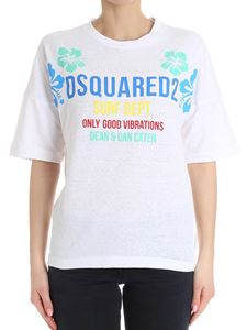 Dsquared2 - White Surf Dept t-shirt