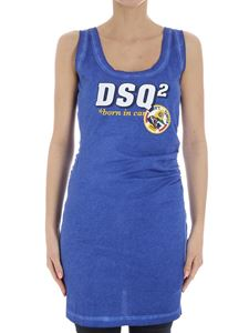 Dsquared2 - Blue DSQ2 dress