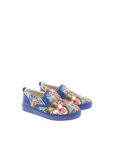 Gucci - Printed slip-on