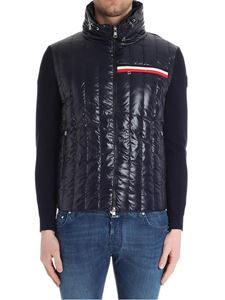 Moncler - Blue knitted cardigan