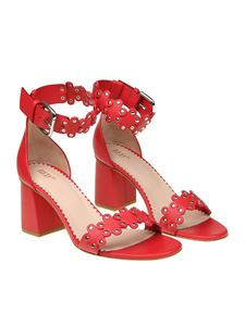 Red Valentino - Red ankle-strap sandals