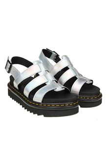 Dr. Martens - Silver Yelena sandals