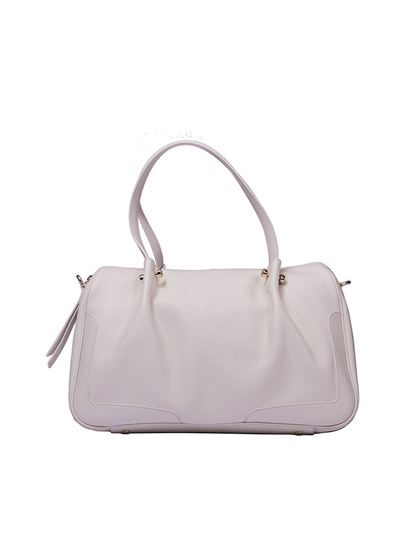 Online Sale Online Free Shipping Excellent White bowling bag Borbonese Official For Sale Wholesale Price For Sale Cheap Authentic Outlet vcWcDeEHak