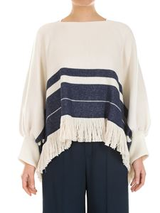 Chloé - Cotton and wool cape
