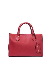 Borbonese - Red leather handbag