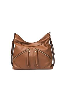 Borbonese - Brown Hobo shoulder bag