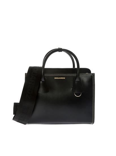 Leather Shopping Bag Spring/summer Dsquared2 mBXJe60ncl