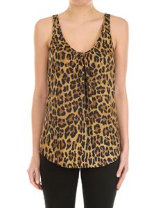 Dsquared2 - Animal patterned top
