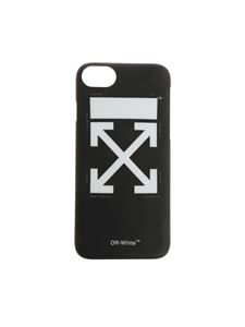 Off-White - Black Iphone 7 Arrow Cover