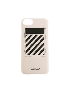 Off-White - White Iphone 7 Diag Cover