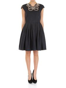 Fendi - Blue Pearls and Bows dress