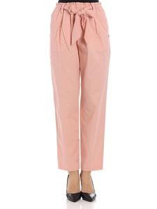 Scotch & Soda - Pink trousers with bow