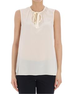 Tory Burch - Top color crema