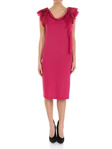 Givenchy - Fuchsia dress with ruffle sleeves