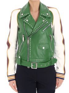 Dsquared2 - Leather jacket with studs
