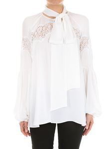 Givenchy - White shirt with flared sleeves