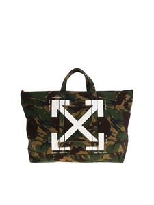 Off-White - Camouflage bag