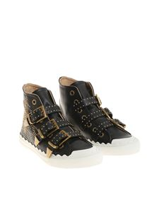 Chloé - Black sneakers with studs