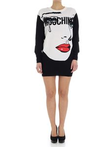 Moschino - Black sweater with logo