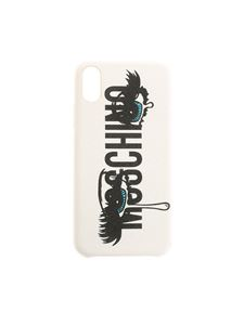 Moschino - White Cover Iphone X