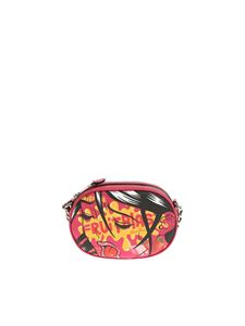 Moschino - Fuchsia Fruitblast shoulder bag