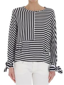 Federica Tosi - Black and white striped blouse