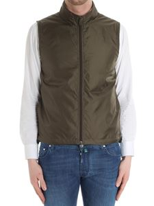 Aspesi - Green padded gilet