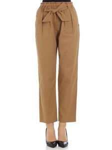 Scotch & Soda - Mustard trousers with bow
