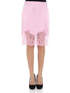 Givenchy - Pink skirt with lace insert