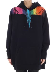 Marcelo Burlon - Black Rainbow sweatshirt
