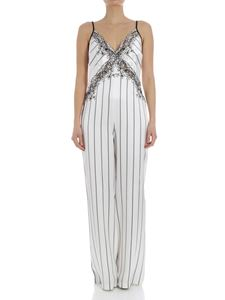 Ermanno by Ermanno Scervino - Satin jumpsuit with embroidery