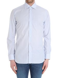 Barba - Micro checked pattern shirt