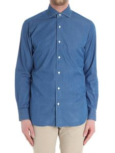 Barba - Blue denim shirt