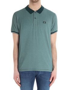 CP Company - Green cotton polo