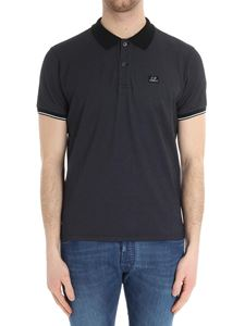 CP Company - Anthracite cotton polo
