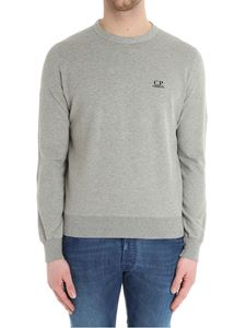 CP Company - Gray sweater with logo