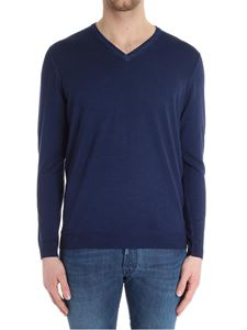 Drumohr - Blue wool sweater
