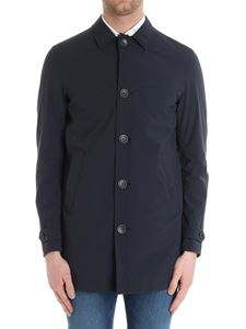 Herno - Blue technical fabric jacket