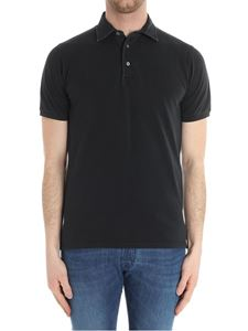 Fedeli - Black North MM cotton polo