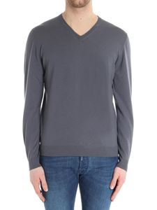 Fedeli - Gray wool sweater