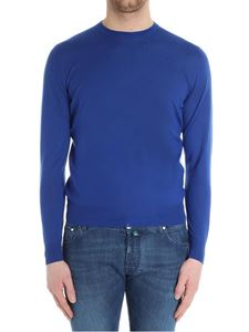 Fedeli - Electric blue cashmere sweater