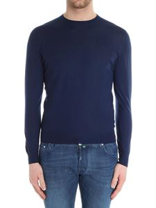 Fedeli - Blue cashmere sweater