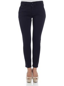 Kubera - Blue embroidered trousers