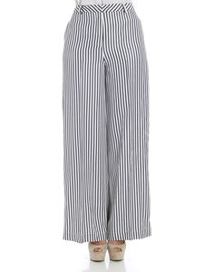 KI6? Who are you? - White and blue striped trousers
