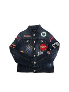 Dsquared2 - Denim jacket with patches