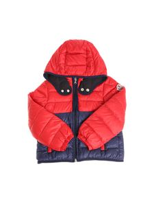 Moncler Jr - Joachin down jacket with logo
