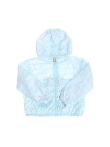 Moschino Kids - Light blue Teddy Bear jacket
